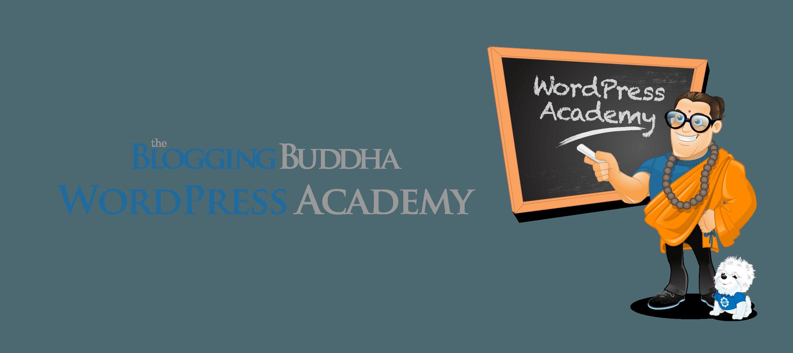 TheBloggingBuddha WordPress Academy
