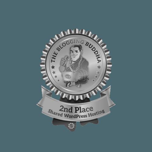 SiteGround Shared WordPress Hosting 2nd Place