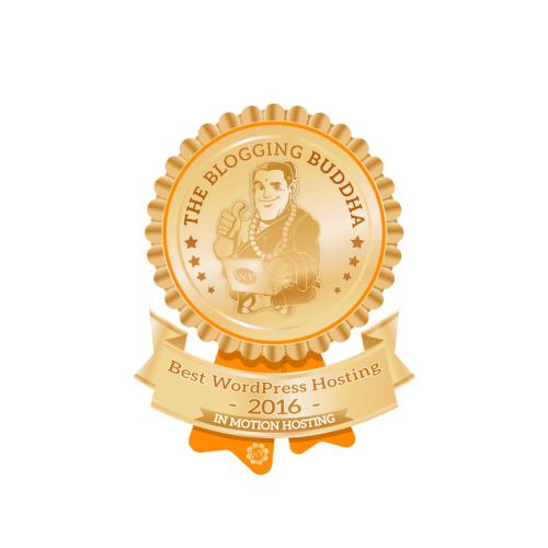 InMotion HostingBest WordPress Hosting Badge
