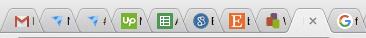 Crowded Browser Tab Screenshot