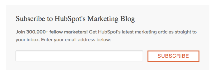 HubSpot Opt-In