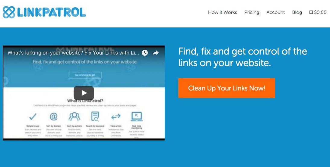 LinkPatrol Screenshot