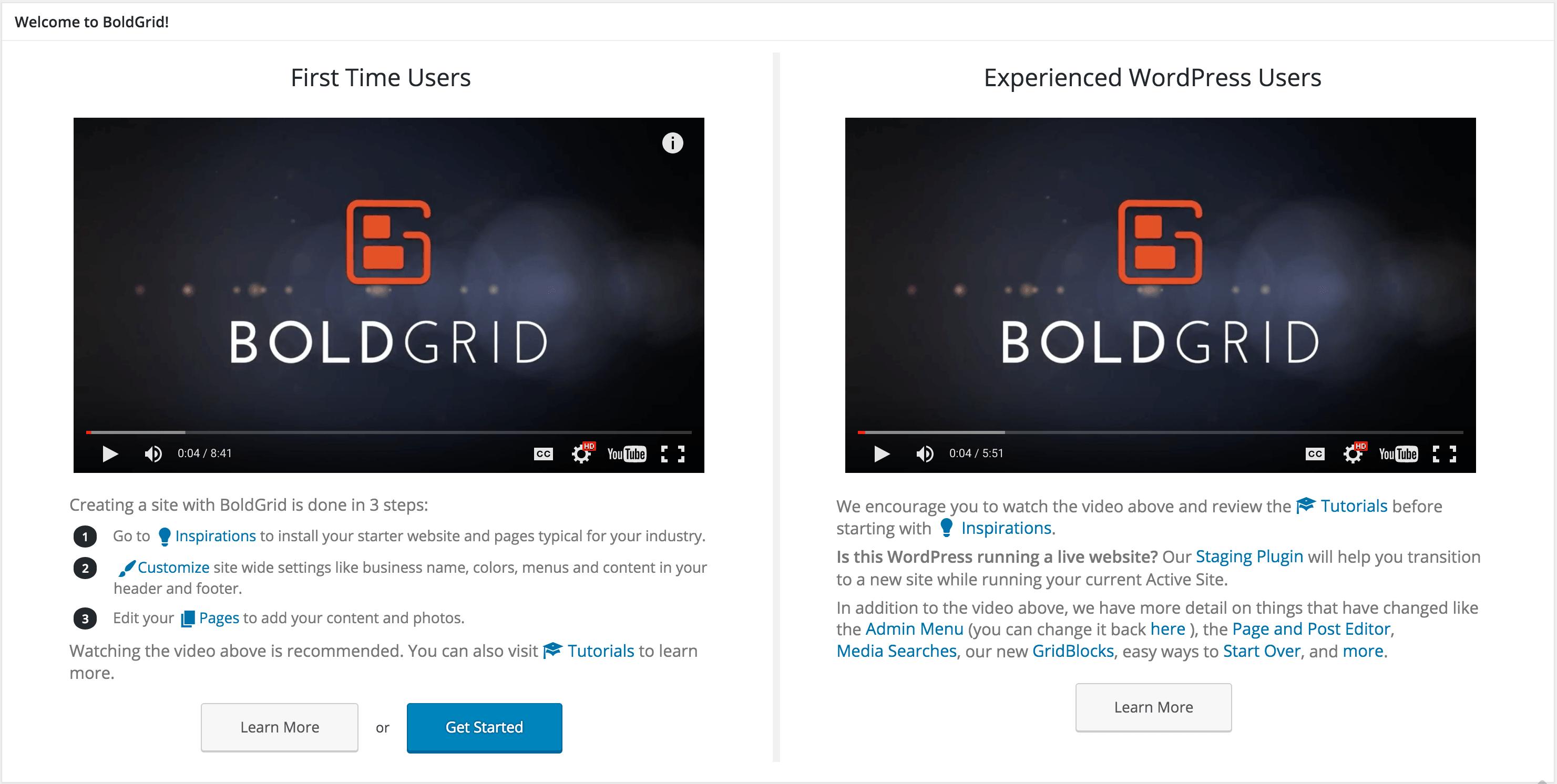 BoldGrid: WordPress and Wix vs Weebly Alternative