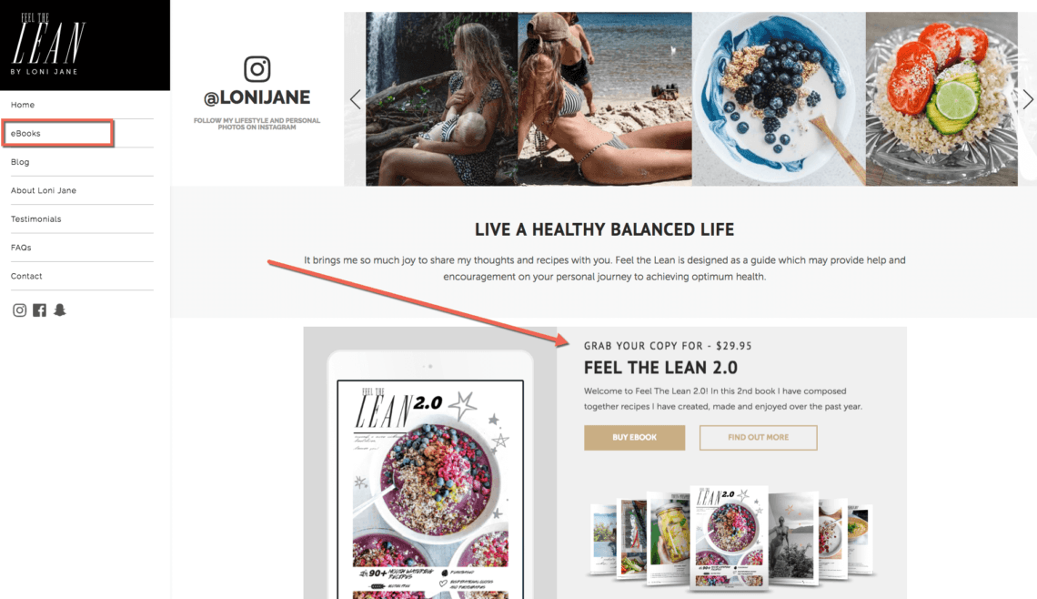 Make money on instagram by creating a blog