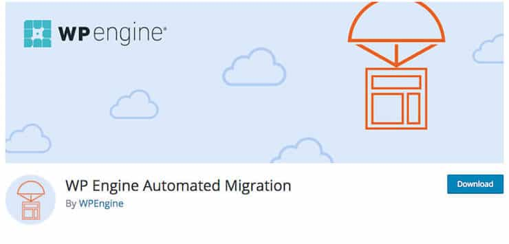 WP Engine Automated Migration Plugin