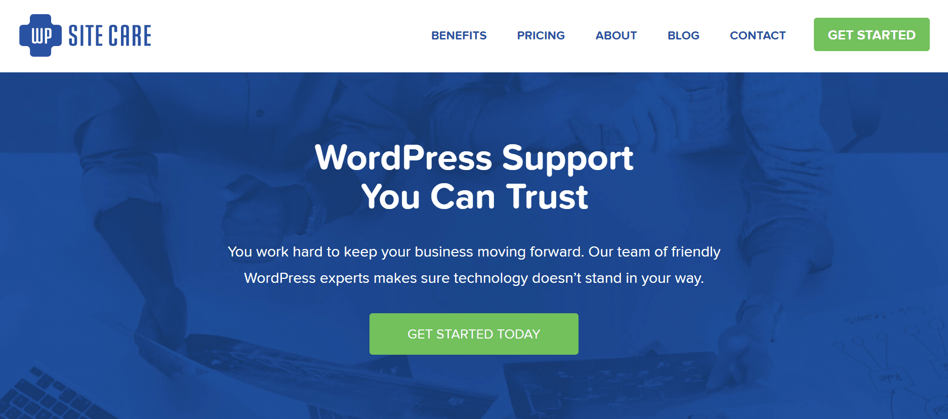 WP Site Care - WordPress maintenance and support service